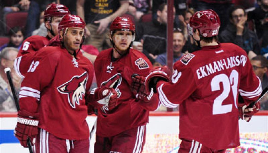 Nhl Arizona Coyotes Approve Franchise Sale Isportconnect