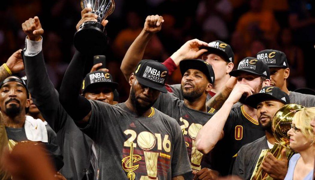 Unprecedented demand for Cleveland Cavaliers merchandise following the  team s NBA Finals 2016 win helped land them to top the most popular team  merchandise ... 1da09b658b3f