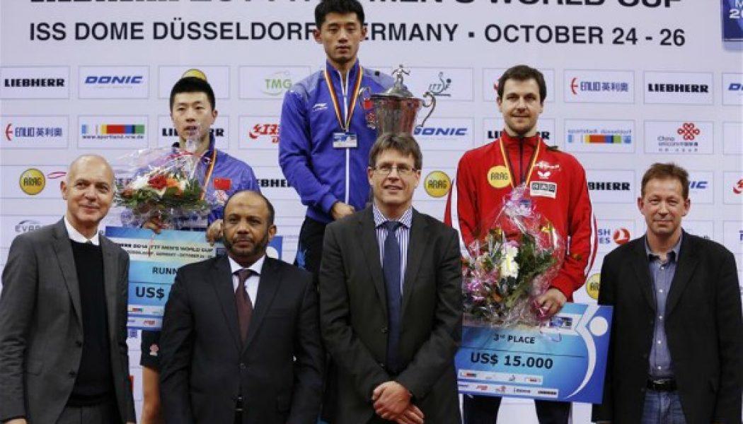 Thomas weikert president international table tennis - International table tennis federation ittf ...