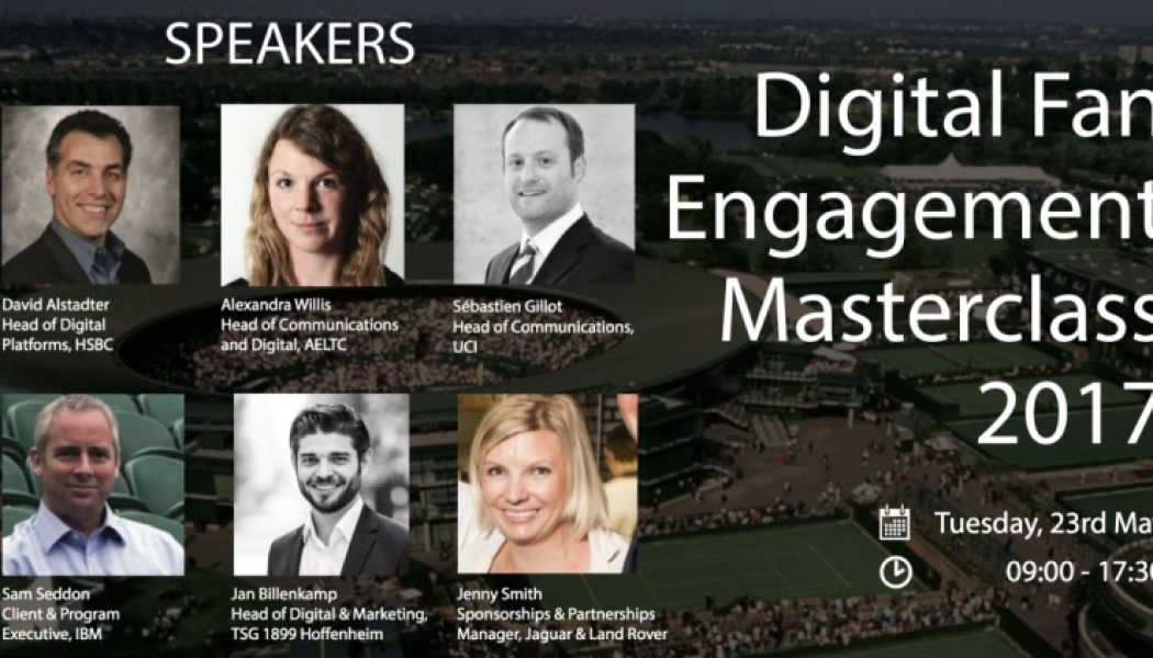 iSportconnect Add Two More Speakers for Digital Fan Engagement Masterclass
