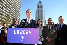 LA2024 Welcomes IOC Evaluation Commission For Three-Day Visit