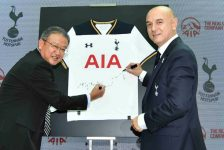 Tottenham Hotspur Extends Shirt Sponsorship With AIA to 2022