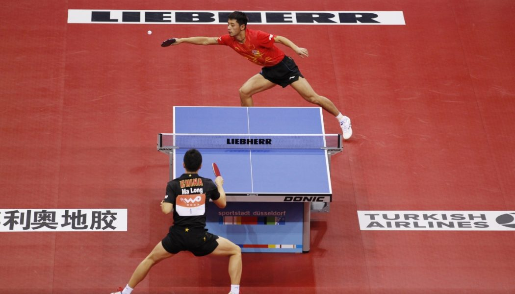 Ittf becomes first international sports federation to have - International table tennis federation ittf ...