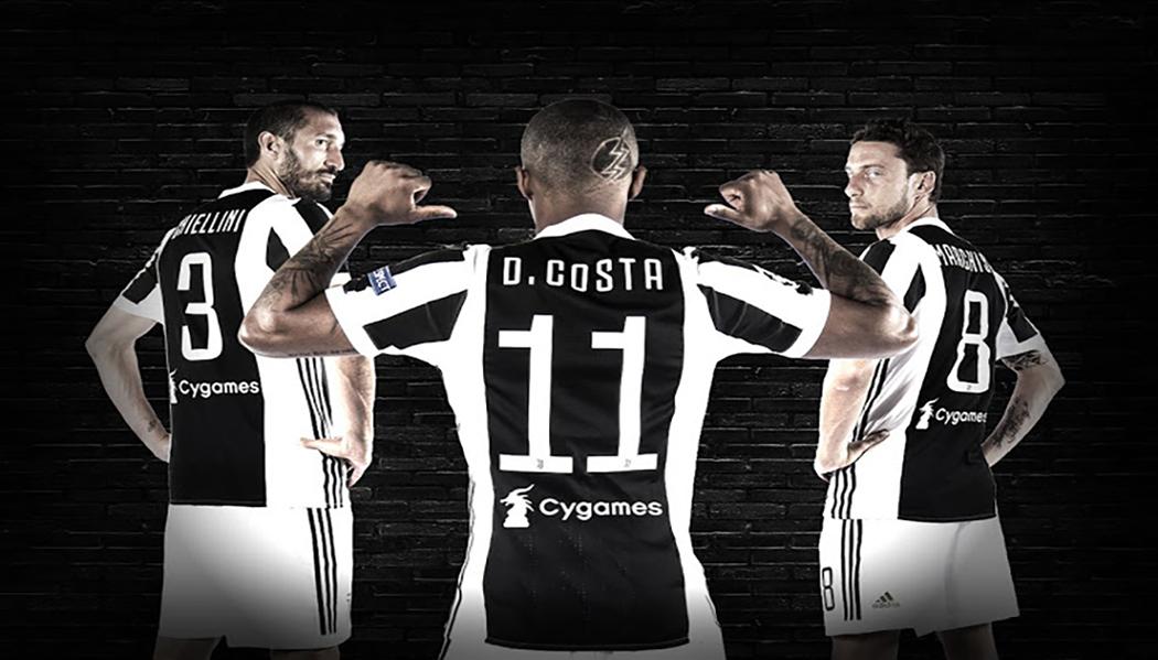 Juventus agrees first-ever back sponsorship deal