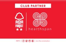 Nottingham Forest Football Club signs Healthspan deal