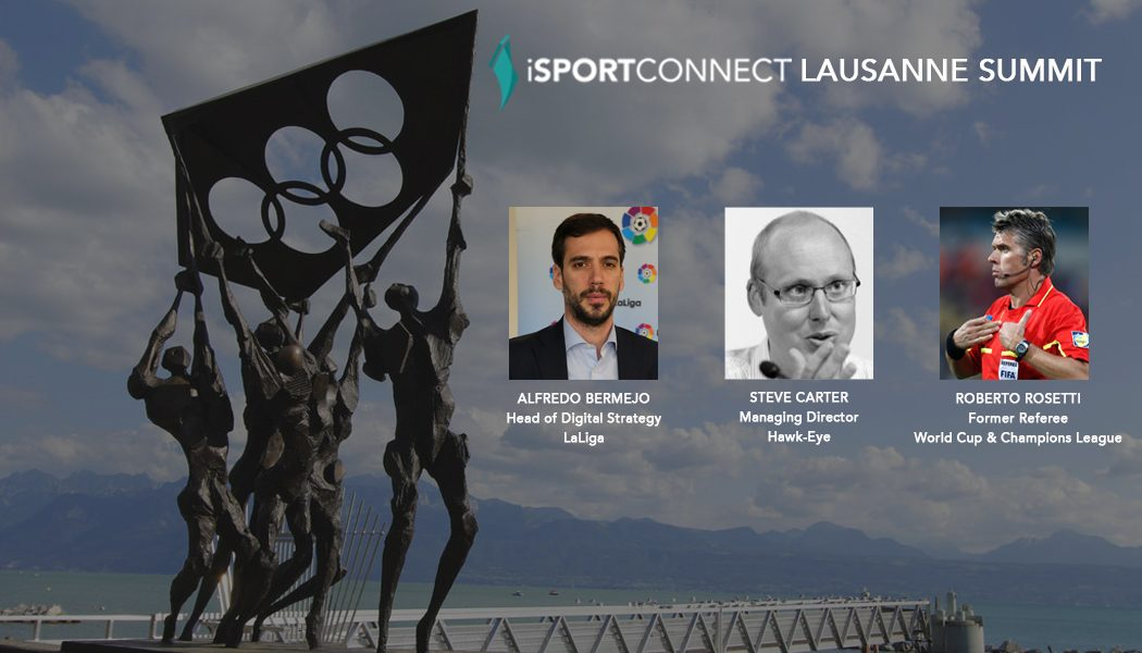 iSportconnect adds Alfredo Bermejo, Steve Carter and Roberto Rosetti to Lausanne Summit lineup