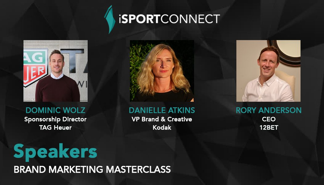 iSportconnect adds TAG Heuer, Kodak and 12BET to Brand Marketing Masterclass line up