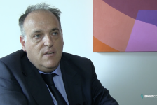 LaLiga president Javier Tebas discusses TV rights, a European Super League and future plans
