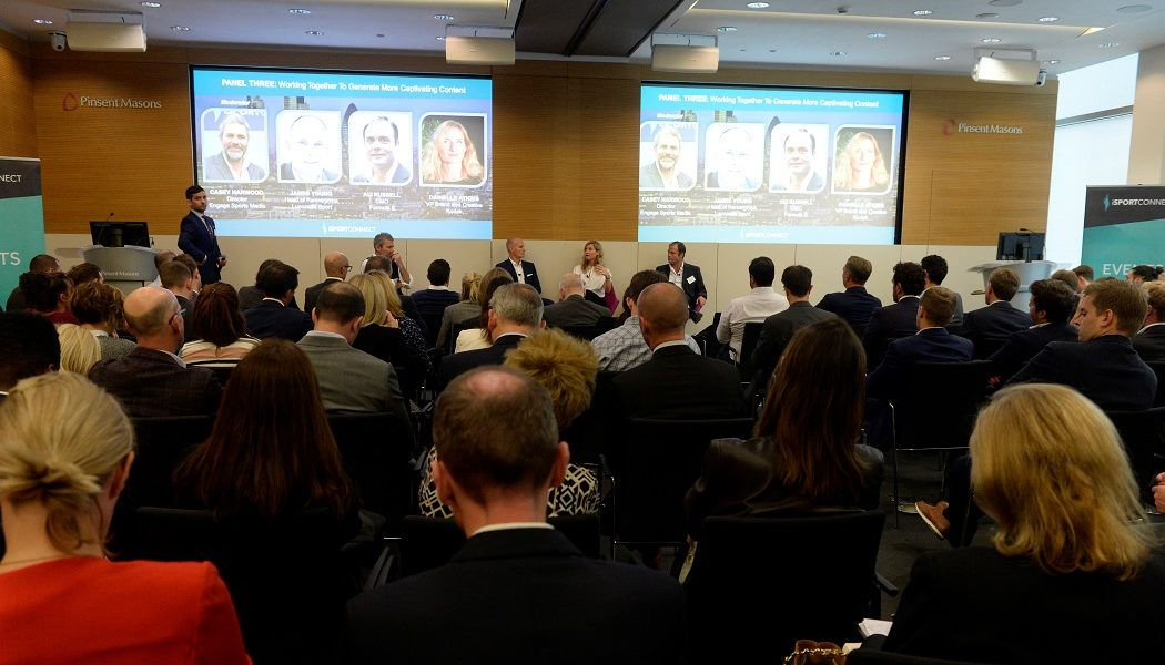 Partnerships, content and data among subjects discussed at iSportconnect's very successful 2017 Brand Marketing Masterclass