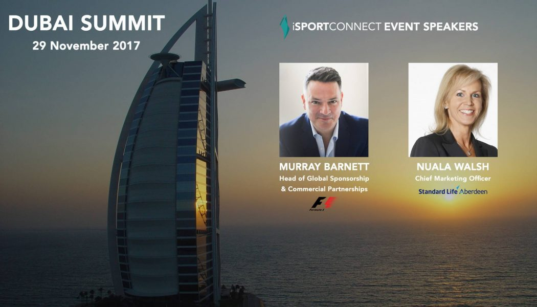 iSportconnect adds Standard Life and F1 to Dubai Summit lineup