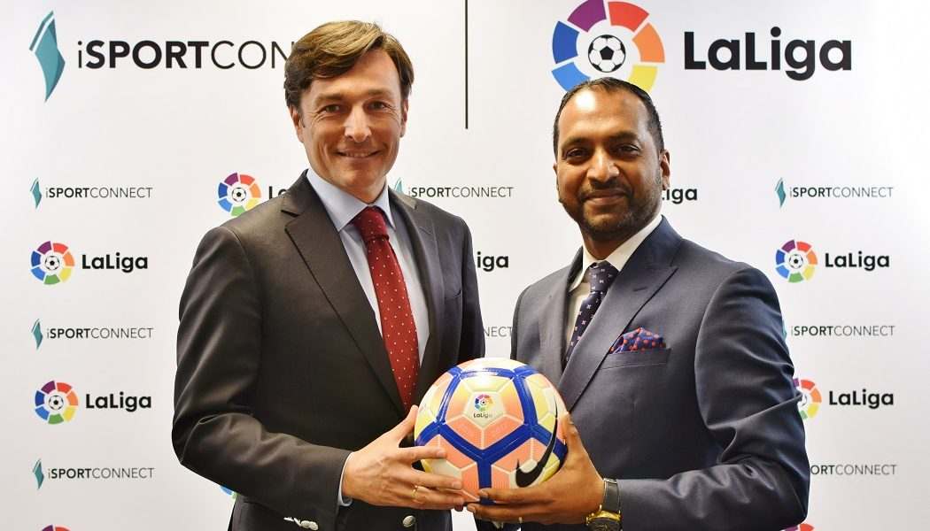iSportconnect to help LaLiga achieve global ambitions