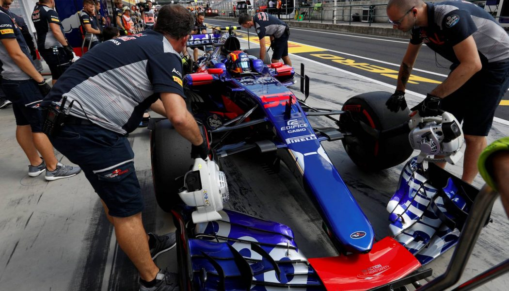 Casio and Toro Rosso agree two-year partnership extension