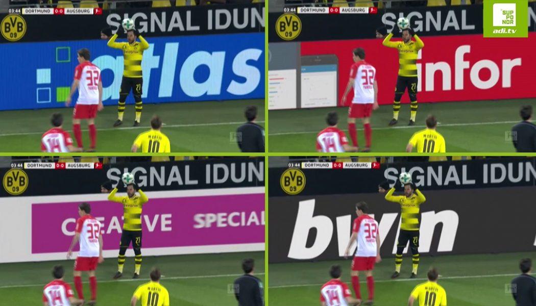 Bundesliga Adopts Live In Game Virtual Advertising