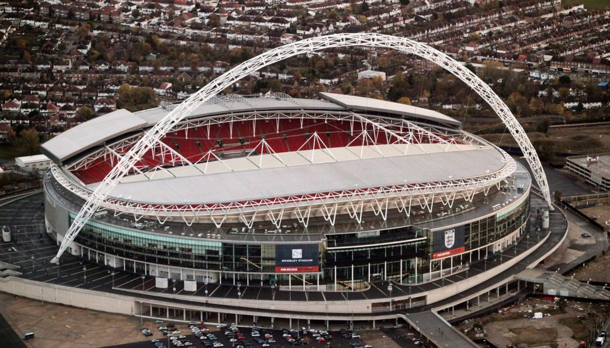 Stadion Wembley Saat Liga Champion