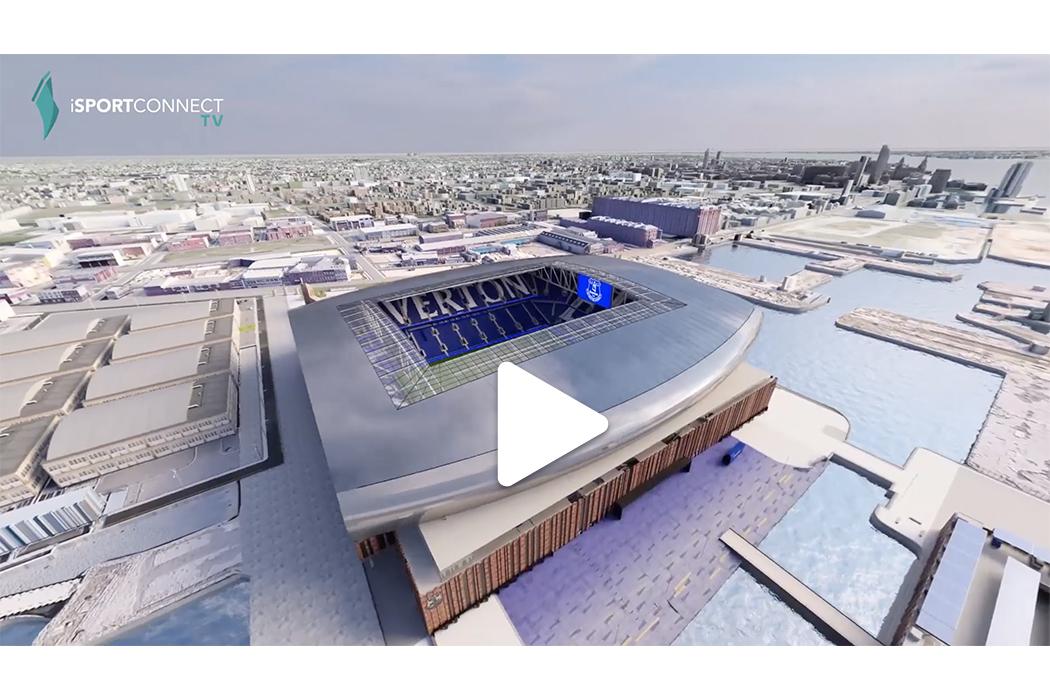 Everton Reveals New Stadium Design Plans | iSportconnect TV
