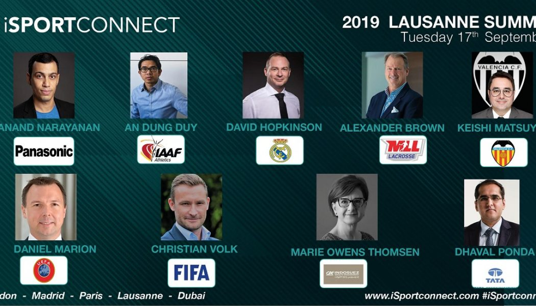 Christian Volk Of FIFA Joins Lausanne Summit Programme